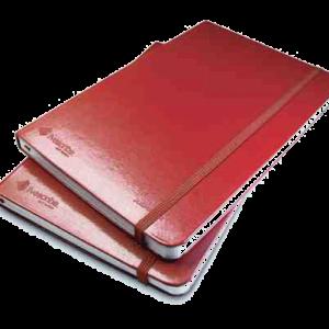 Livescrie notitieboekjes zonder lijnen