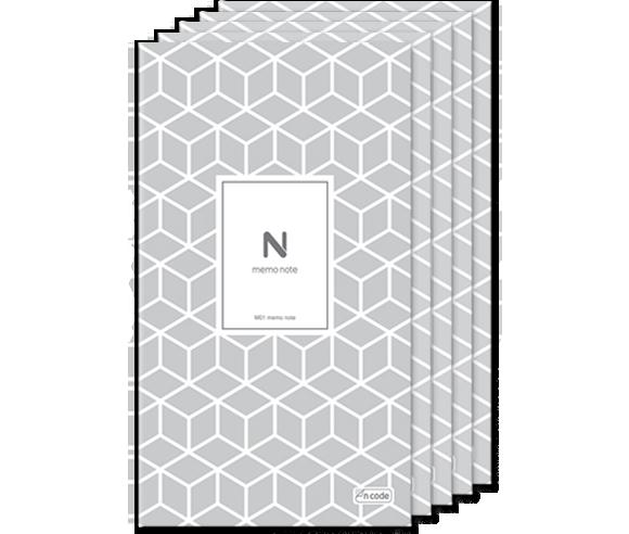 N memo notebook 5 stuks