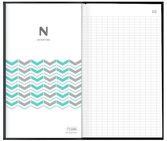 N pocket notebook inhoud