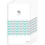 N pocket notebook per 5 stuks