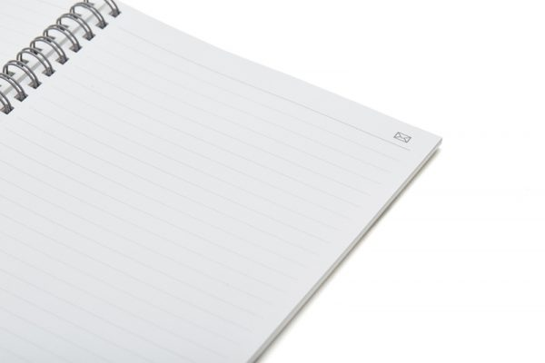 N Ring notebook open