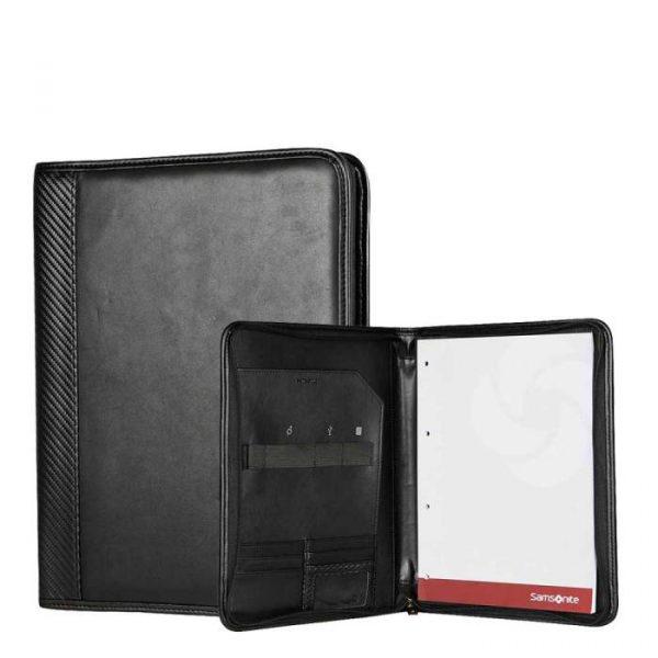Samsonite Stationery S-Derry Zip Folder A4 black