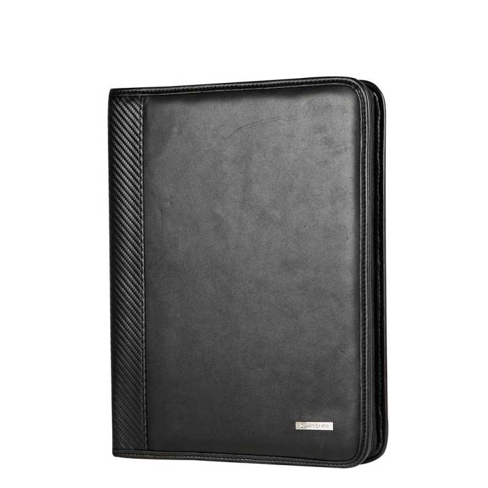 Samsonite Stationery S-Derry Zip Folder A4 black buitenkant