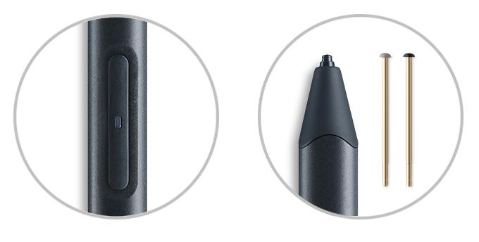 Wacom Sketch instelbare sneltoetsen