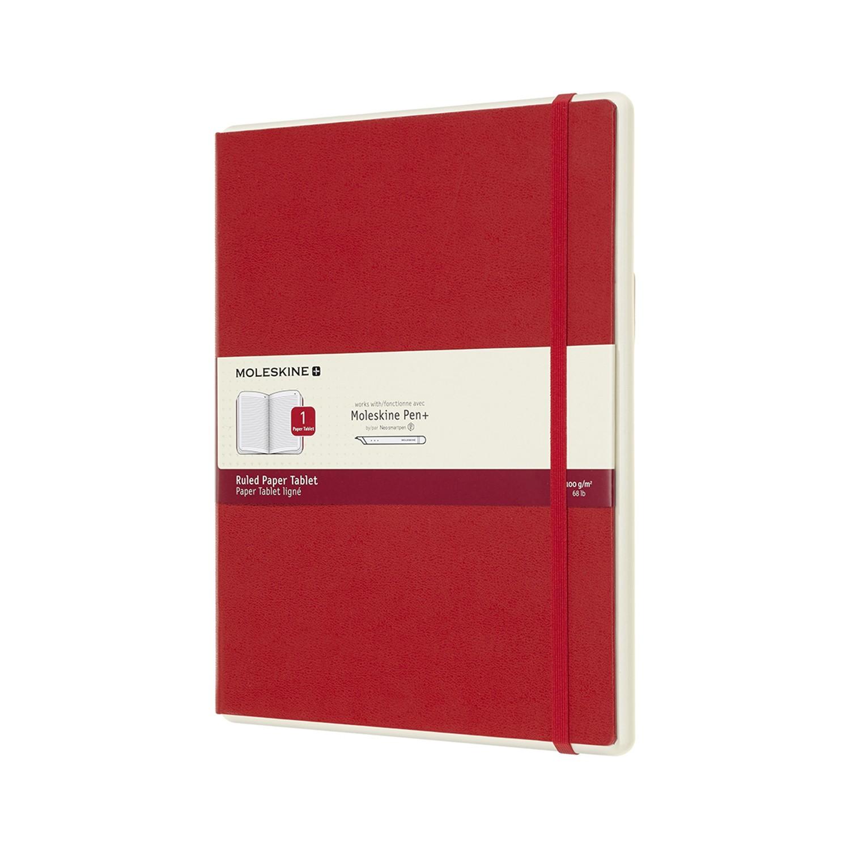 Moleskine Paper Tablet Red XL lijntjes N°1