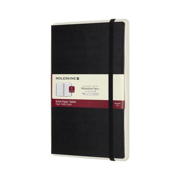 Moleskine Paper Tablet Black lijntjes N°1