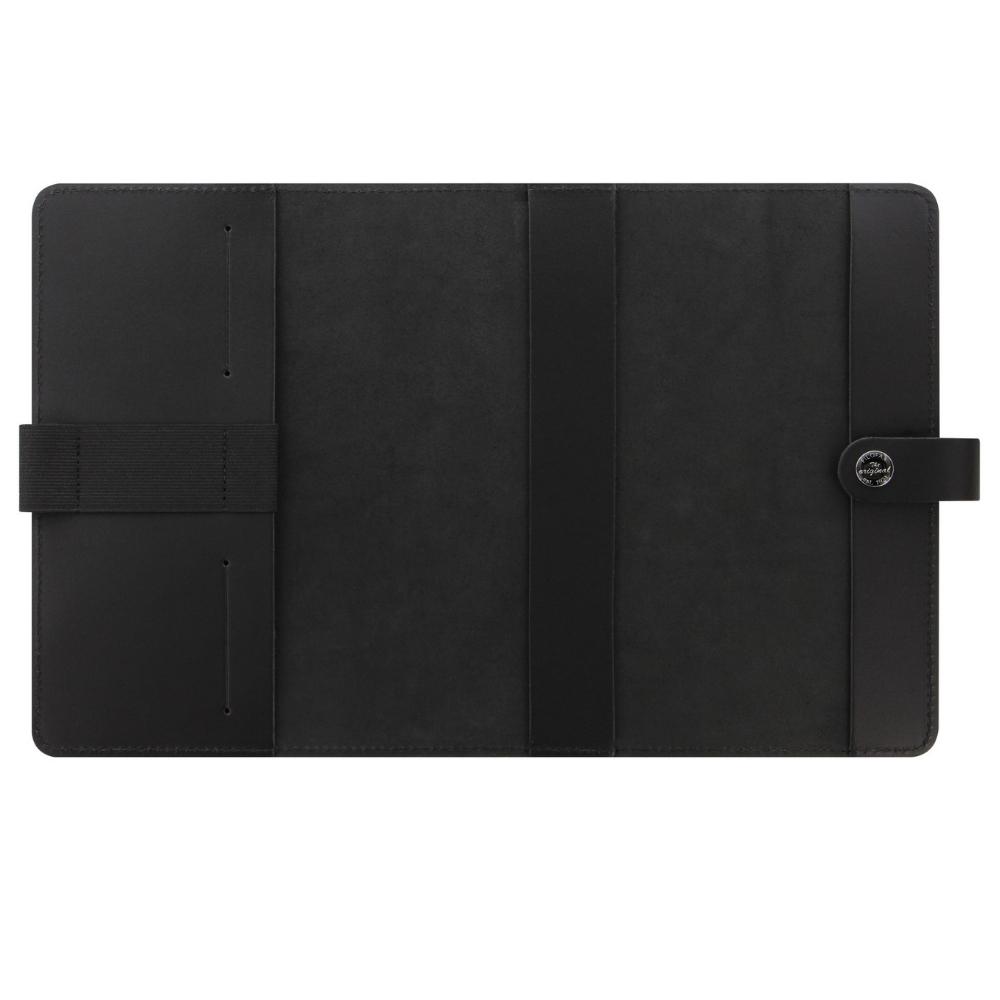 Folifax Original A5 Notebook Folio Black Leer binnenkant