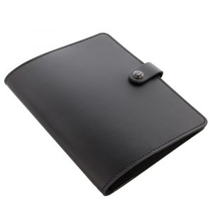 Folifax Original A5 Notebook Folio Black Leer