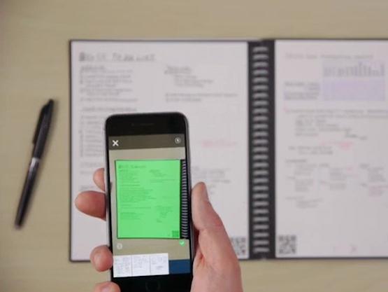 Scan met Rocketbook App