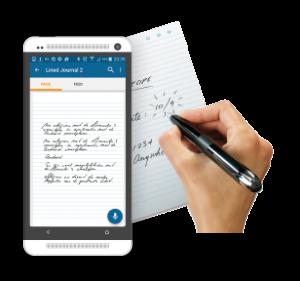 Schrijven met Android en Livescribe 3