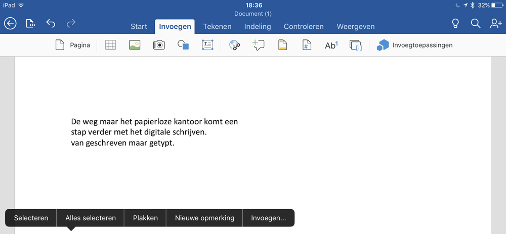 Goodnotes naar Ms Word
