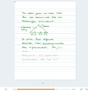 Voorbeeld Livescribe PDF
