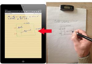 e-pens mobile notes iPad schrijven en scherm