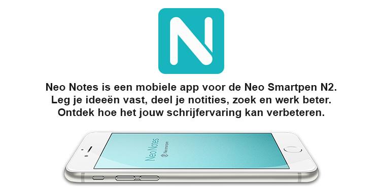 Neo Smartpen N2 app Neo Notes