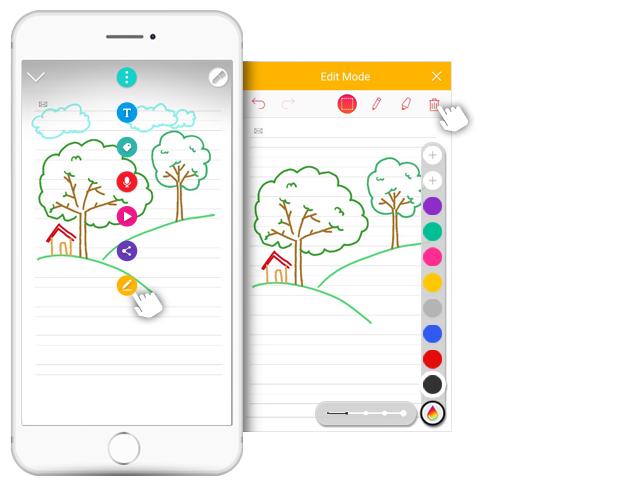 Gummen met Neo notes app