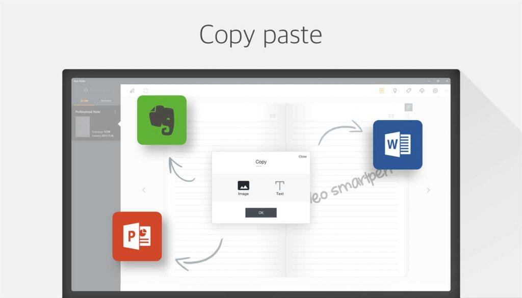 Neo Notes Windows 10 Copieer en Plak