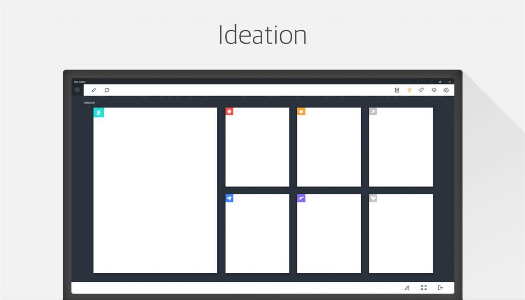 Neo Notes Windows 10 Brainstormen