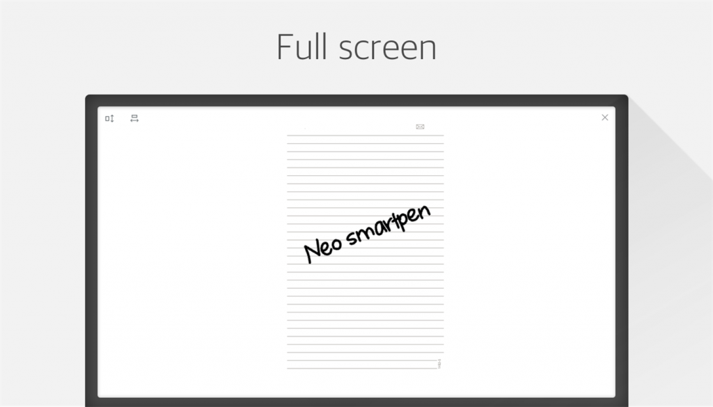 Neo Notes Windows Full screen