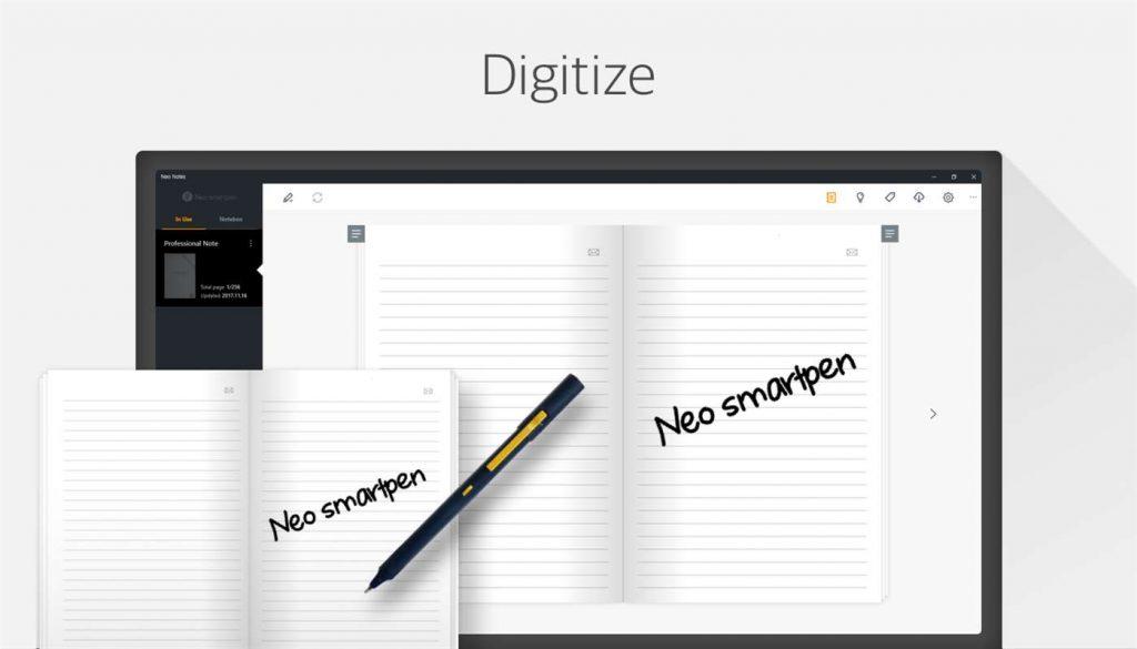 Neo Notes Windows Digitaliseer