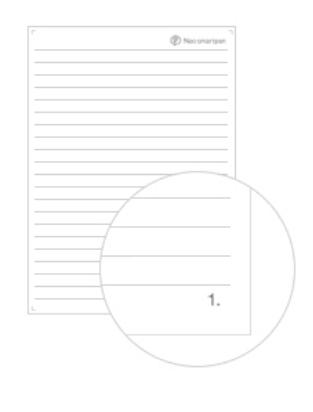 N-code PDF A4 Lijntjes
