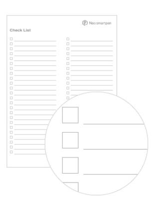 N-code PDF checklijst