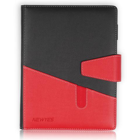 NewYes Black & Red PU Notebook