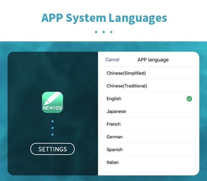 Systeem talen