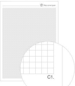 ncode ruitjes grid