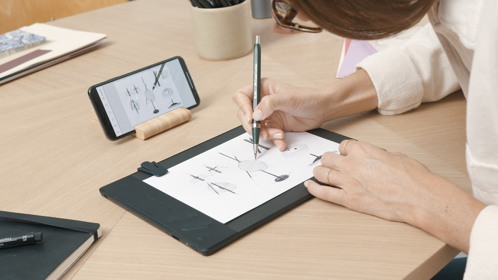 Repaper tablet