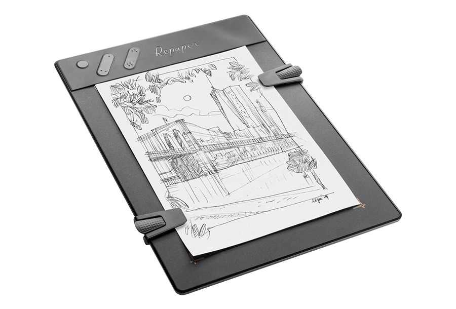 ISKN Repaper teken tablet