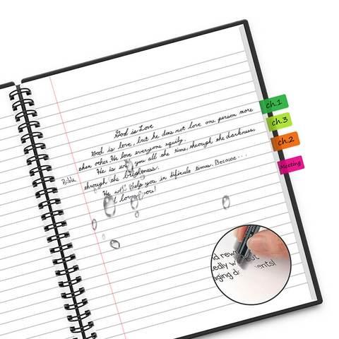 NewYes A4 notebook met kleuren index