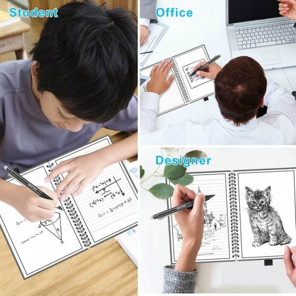 A5 smartnotebook met voorbeelden