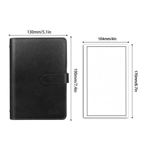 PU A6 Leather notebook