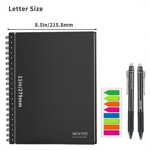 NewYes notebook A4 met kleuren index